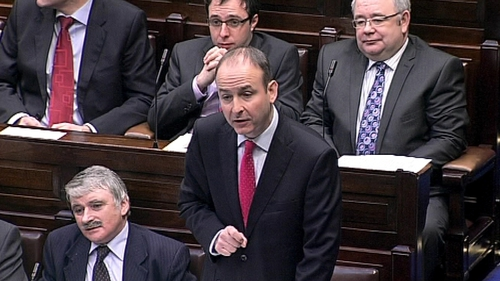 New poll shows Micheál Martin's Fianna Fáil party losing support