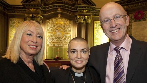 Anne Doyle, Sinéad O'Connor and John Murray