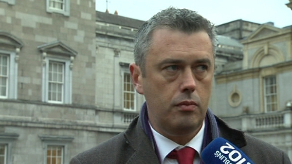 Colm Keaveney tweeted 'Acta non verba', Latin for 'deeds not words'