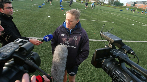 Joe Schmidt will talk to the IRFU this week about becoming the next Ireland head coach