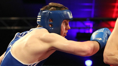 Jason Quigley won Ireland's only gold medal in the Czech Republic