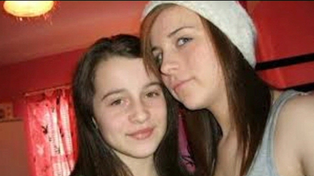 Erin Gallagher (l) died by suicide in October. Shannon Gallagher was found dead today