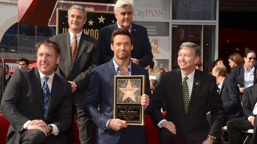 Hugh Jackman has received a Walk of Fame star