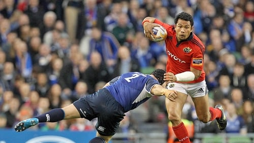 Casey Laulala will quit Munster after two seasons at Thomond Park
