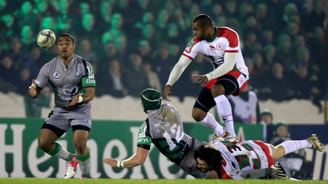 Connacht defeated Biarritz 22-14 last week at the Sportsground