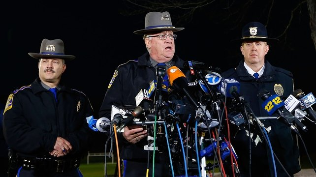 Lt Vance said authorities found 20 children and seven adults, including the gunman, dead at the school