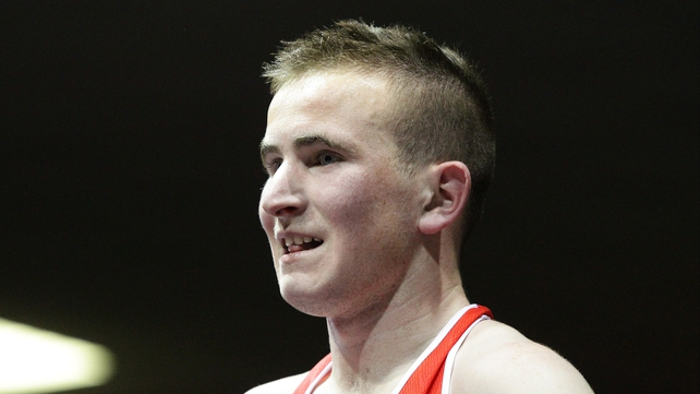 Hugh Myres has secured a semi-final spot at the European Under-23 Championships