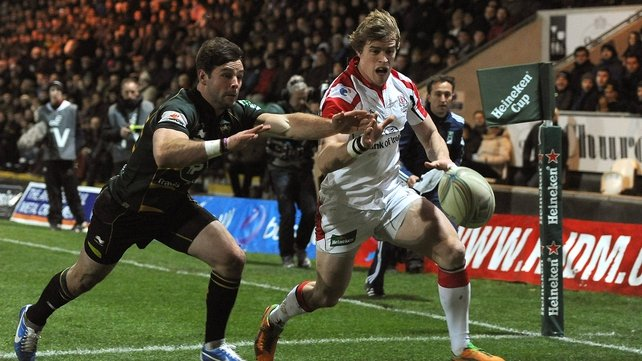 Andrew Trimble makes his 50th Heineken Cup appearance this weekend