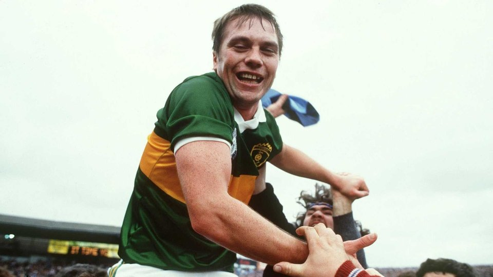 O'Se lofted in the air after the 1985 All-Ireland win