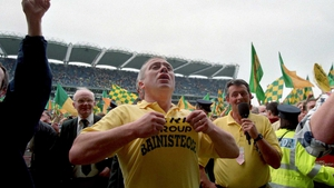 Passionate celebrations after guiding the Kingdom to the All-Ireland 15 years ago