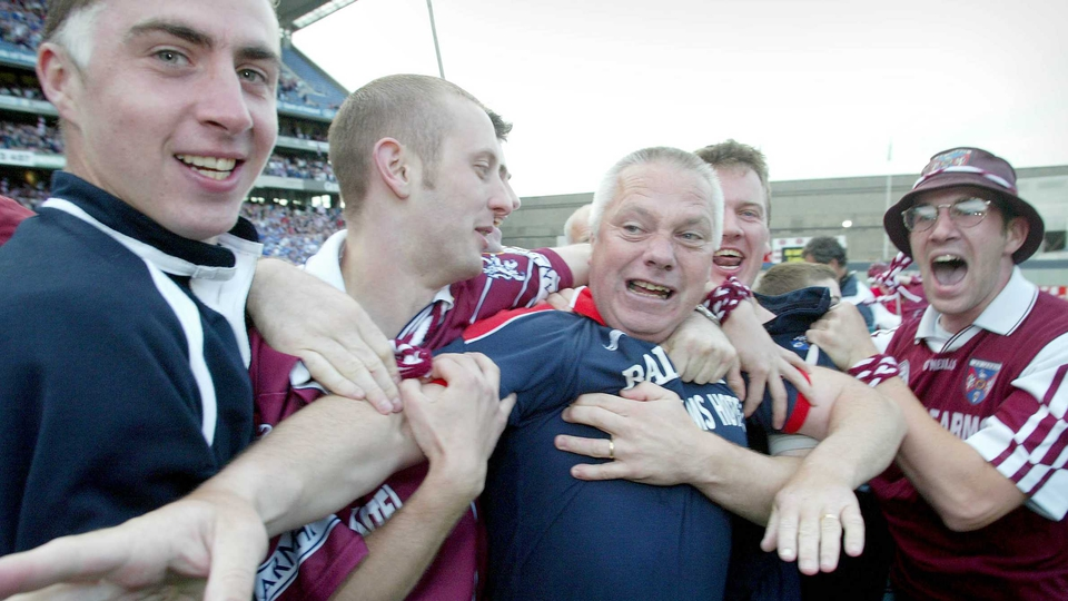 Success with Westmeath came in his first season in charge, their first ever Leinster title