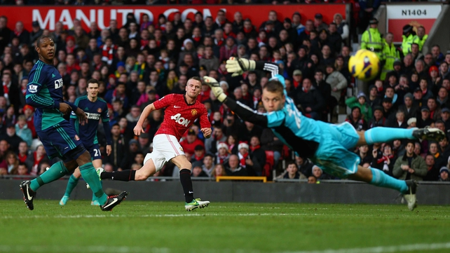 Tom Cleverley's majestic strike helped Manchester United on the way to victory