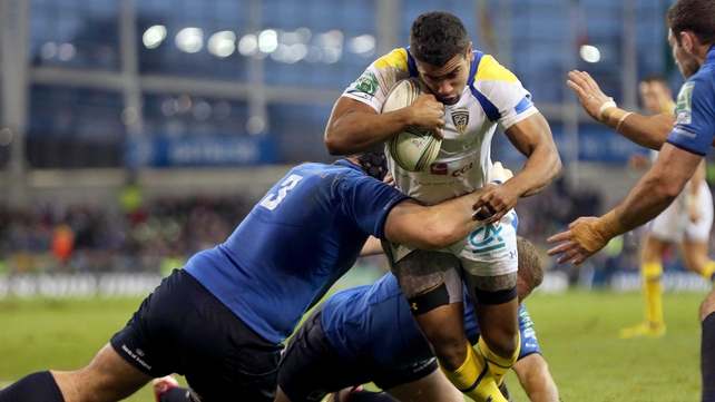 Wesley Fofana scored Clermont's only try at Aviva Stadium