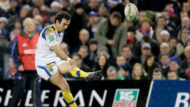 Morgan Parra scored 23 kicked points at Aviva Stadium