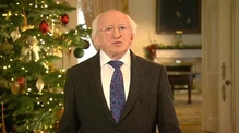 Christmas message from President Michael D Higgins