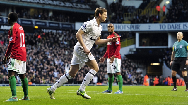 Jan Vertonghen scored the only goal at White Hart Lane