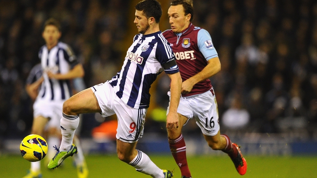 Shane Long played 83 minutes for the Baggies