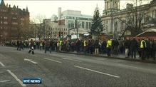 Hundreds take part in Belfast peace gathering