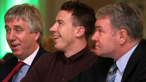 Former Ireland international Ray Houghton at the FAI Football For All International Caps presentation night.