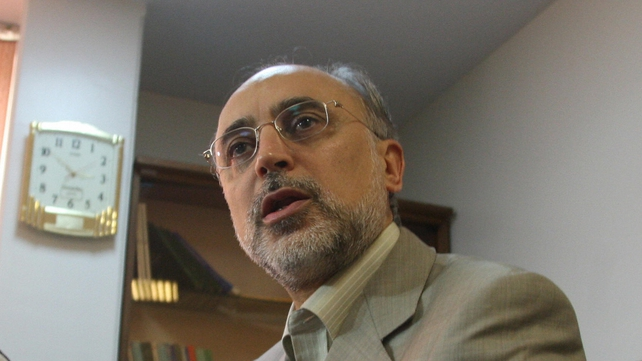 Ali Akbar Salehi said he did not know when the next round of talks would take place