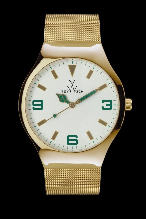 Toywatch Mesh Gold Watch €185 at Brown Thomas