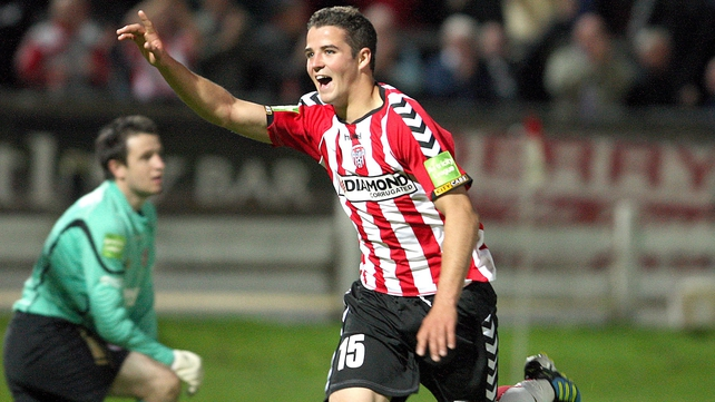 McLaughlin has spent three seasons with Derry City