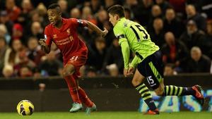 Raheem Sterling is set to be rested by Liverpool manager Brendan Rodgers