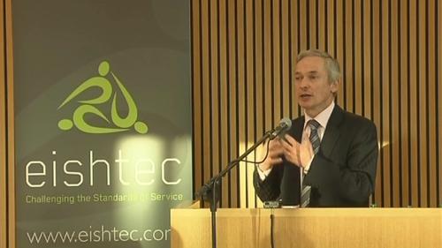 Richard Bruton also announced an initial 200 new jobs at Eishtec's Clonmel call centre