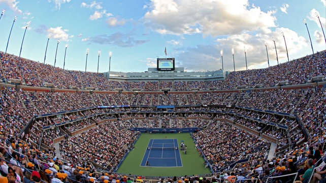 The Arthur Ashe Stadium currently hosts the US Open men's singles final on a Monday