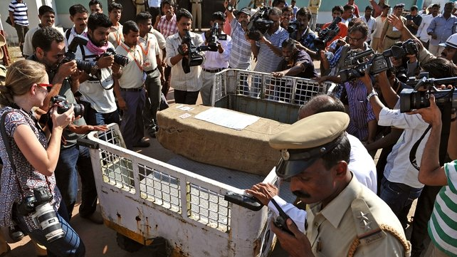 Jacintha Saldanha's body arrived in India yesterday