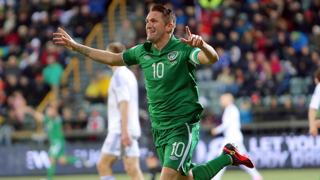 Robbie Keane will miss the summer international friendlies with England and Georgia