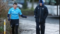Brian O'Driscoll has returned to Leinster training.