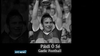 Páidí Ó Sé remembered at BBC awards.