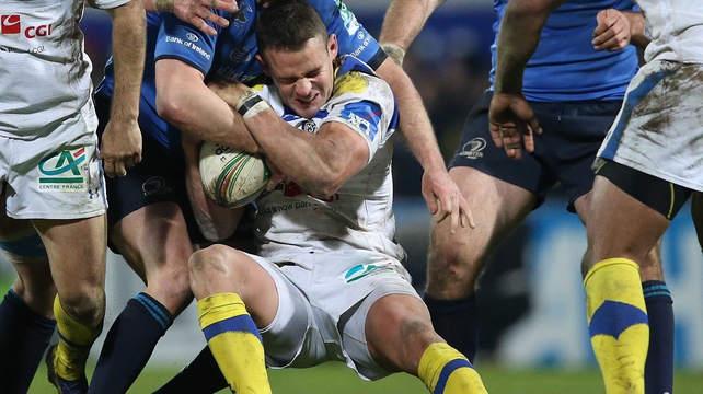 Lee Byrne suffered the injury during Clermont's win over Leinster