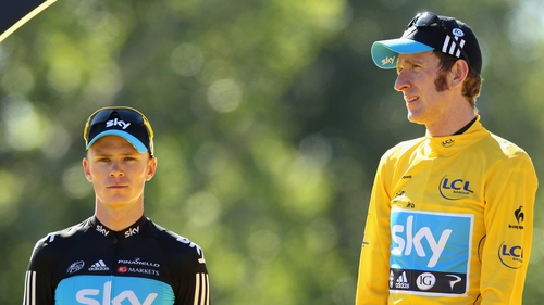 Chris Froome (left) believes he will be Sky's team leader at the 2013 Tour de France