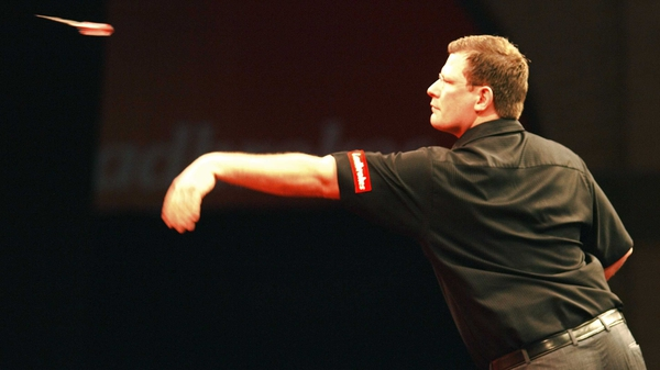 James Wade is into the second round of the World Darts Championship