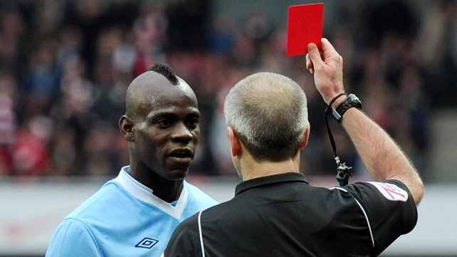Mario Balotelli could be given the red card by Manchester City and sent packing to an Italian club in the January transfer window; the question is can any Serie A club afford him?
