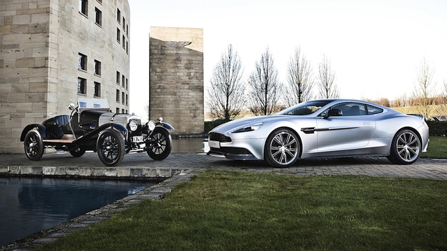 Aston Martin turning 100