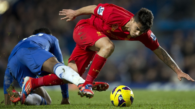 Suso, signed from Cadiz in 2010, has been warned about his future conduct