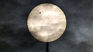 JUNE: Sky-gazers around the world witnessed a once-in-a-lifetime event as Venus slid across the sun