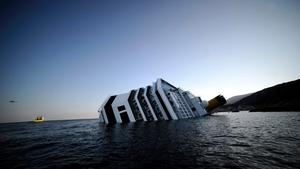 JANUARY: The Costa Concordia cruise ship ran aground off the coast of Italy, leaving over 30 people dead