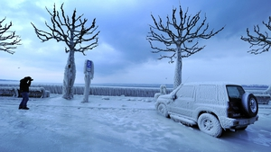 JANUARY/FEBRUARY: Hundreds of people died as a result of a cold snap in Europe