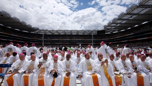 JUNE: Croke Park in Dublin played host to the 50th International Eucharistic Congress