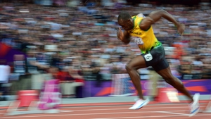 AUGUST: Usain Bolt thrilled the world by winning three gold medals at London 2012
