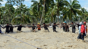 DECEMBER: Typhoon Bopha devastated parts of the Philippines and left over 1,000 people dead