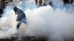 Greece saw major protests throughout the year as the country's people protested the ongoing austerity