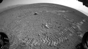 AUGUST: The NASA rover Curiosity made its mark on the surface of Mars