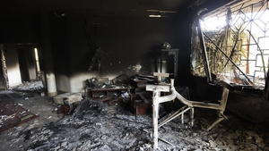 SEPTEMBER: An attack on the US Consulate in Benghazi, Libya, killed the US Ambassador and three others