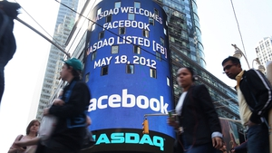 MAY: After its much-anticipated IPO, Facebook shares later failed to impress