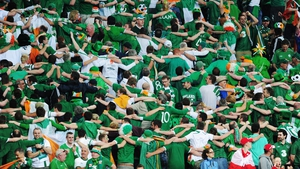 JUNE: Irish fans celebrated every moment they spent in Poland for Euro 2012